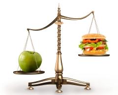 balança alimentos