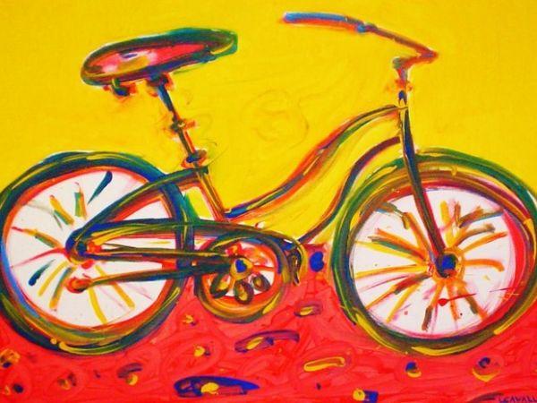 Eu vou de bike